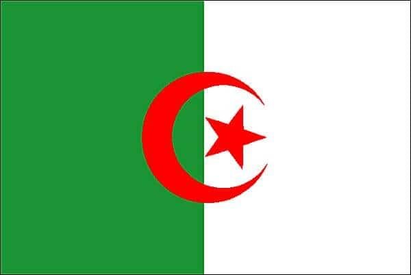 Bandera de argelia